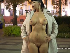 Exhibitionist Beauty Fucked, Nude, Outdoor, spying, Girl Public Fucked, Barebreasted Cutie, Perfect Body Teen