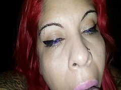 Balls, Wife Bbc, suck, Blowjob and Cum, Cum, Cum Swallowing Female, deep Throat, Interracial, Jizz, Young Latina, Latino, Sloppy Throatfuck, Swallowing, Tongue, Cum In Her Eyes, Perfect Body Amateur Sex, Sperm in Mouth
