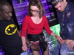 French, French Amateur Gang Bang, French Mom Anal, Gangbang, Glasses, Hot MILF, Hot Mom, milfs