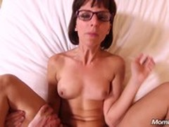 Facial, Hot MILF, Mom, milf Mom, Perfect Body Teen, squirting