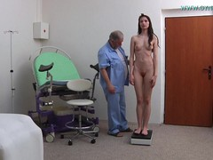 Gyno Exam Young, leg, Perfect Body Amateur Sex, vagin, spread Pussy