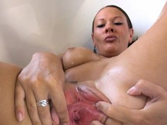 Longest Dildo, Hard Sex, hard, Pussy Spreading Solo, Mature Perfect Body, vagina