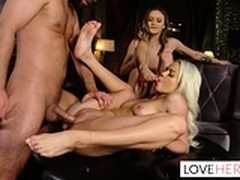 Threesome, Dating, foot Fetish, Perfect Booty, Threesome Ffm