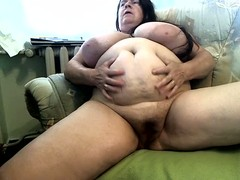 Great Jugs, Brunette, Chubby Milf, Perfect Body Masturbation, ugly Women