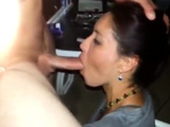 suck, Fuck Friends Threesome, Husband, Blindfolded Wife, Perfect Body Amateur Sex, Swallowing