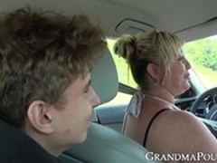 Cum in Throat, fucks, Gilf Blowjob, Grandmother, Perfect Booty, Real Public Sex, Girl Public Fucked, Sperm Inside, Young Female