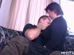 Couple Couch, fuck Videos, Porno German, Housewife, hubby, Blindfold, Perfect Body Masturbation
