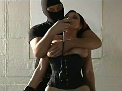 Corset Stockings Fuck, Painful Sex, Perfect Body Amateur