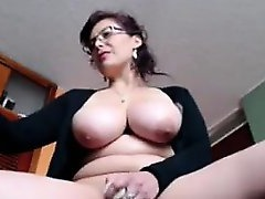Hot Cougar, Dildo, Finger Fuck, finger, Hot MILF, Hot Mom, Mature Perfect Body, Husband Watches Wife Gangbang, Girl Masturbates While Watching Porn