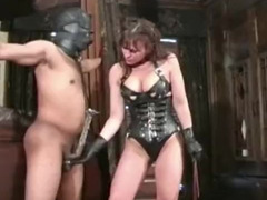 BDSM, tied, Cbt Ballbusting, Latex Handjob Gloves, Wife Morning Fuck, Rough Slapping, Whip, Balls, Perfect Body Amateur Sex